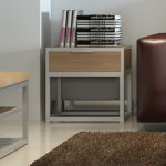 F3 Balboa end table student apartment furniture