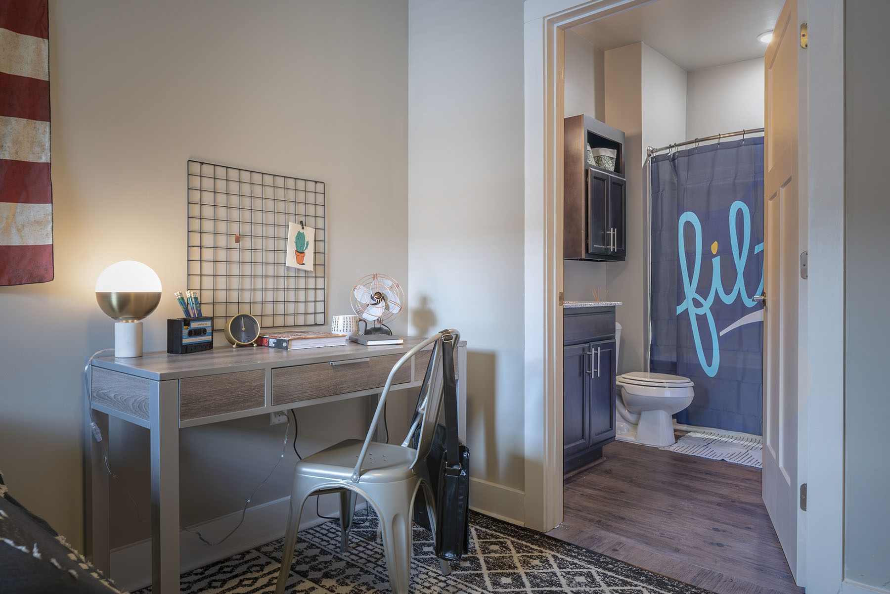 student apartment furnished by F3