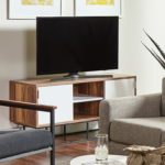 F3 Dmitri media console student housing furniture