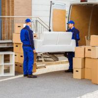 f3 deliverymen delivering furniture to dorm