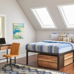 F3 club bedroom set for student housing