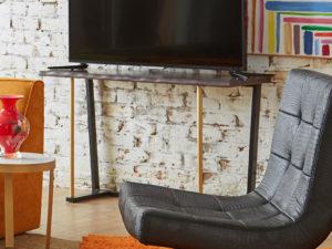 F3 NOLA media console student housing furniture